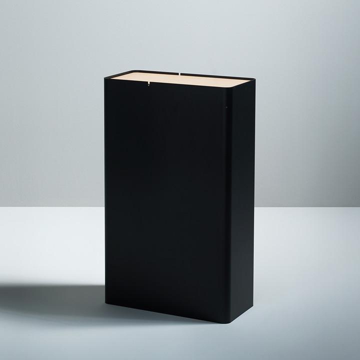 P-DREI Container schwarz eloxiert