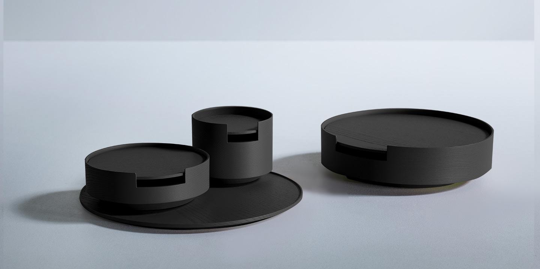 Böwer Container Esche schwarz