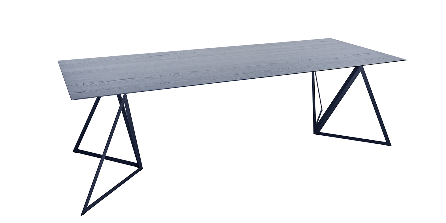 Steel Stand Table black