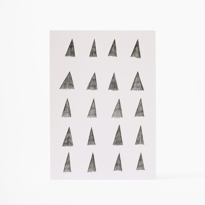 Künstlerkarte Dreiecke