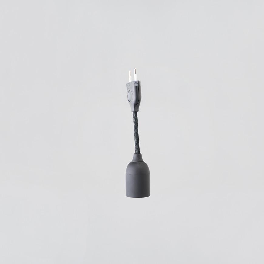 Linus Stromkabel schwarz 15 cm