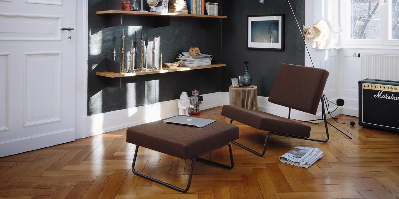 Lounge Chair Herbert Hirche, Entwurf von 1953