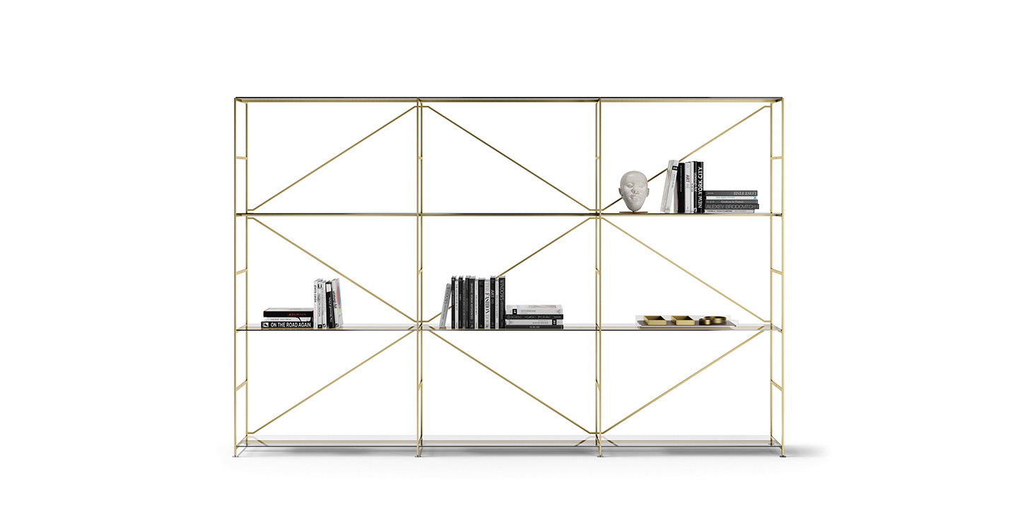 R.I.G. Shelf  Brass