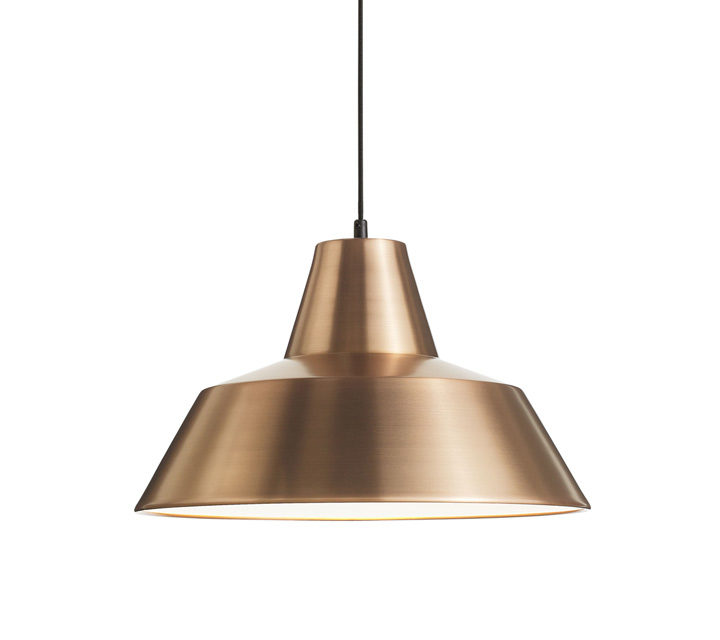 W4 Workshop Lamp copper / white