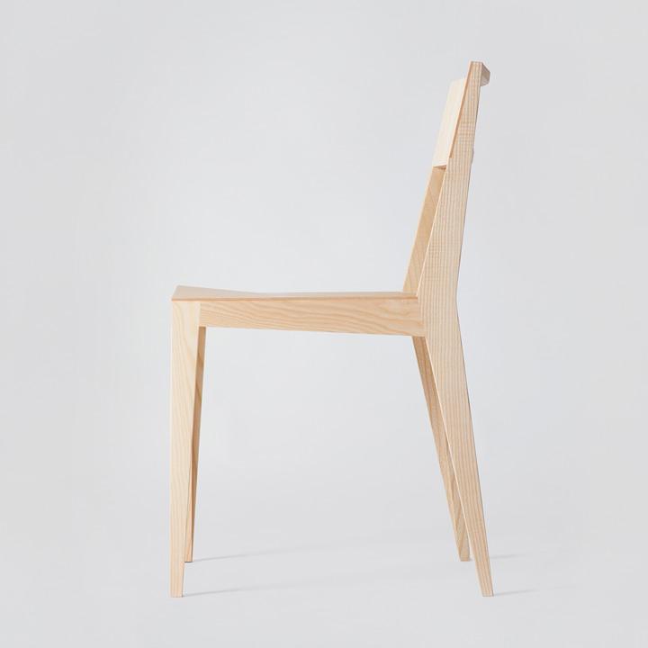 Chair 3, Esche natur geölt