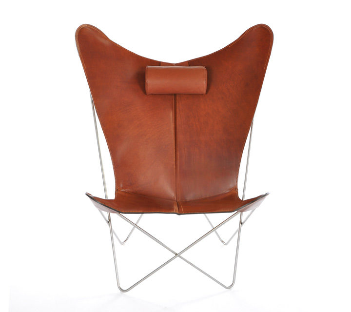 KS Chair Leder cognac