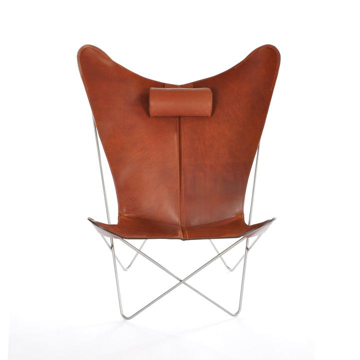 KS Chair Leder cognac
