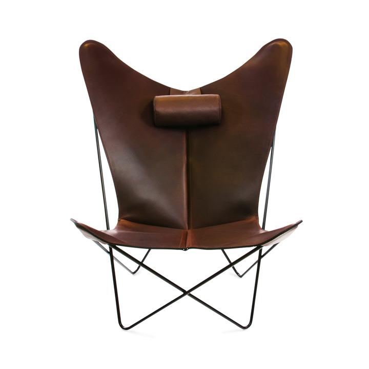 KS Chair Leder mocca