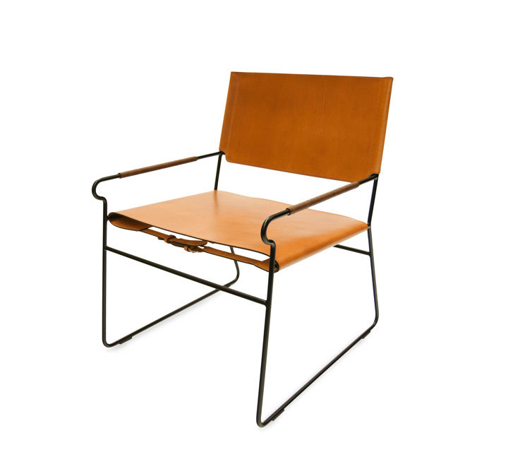 Next Rest Chair Leder haselnuss