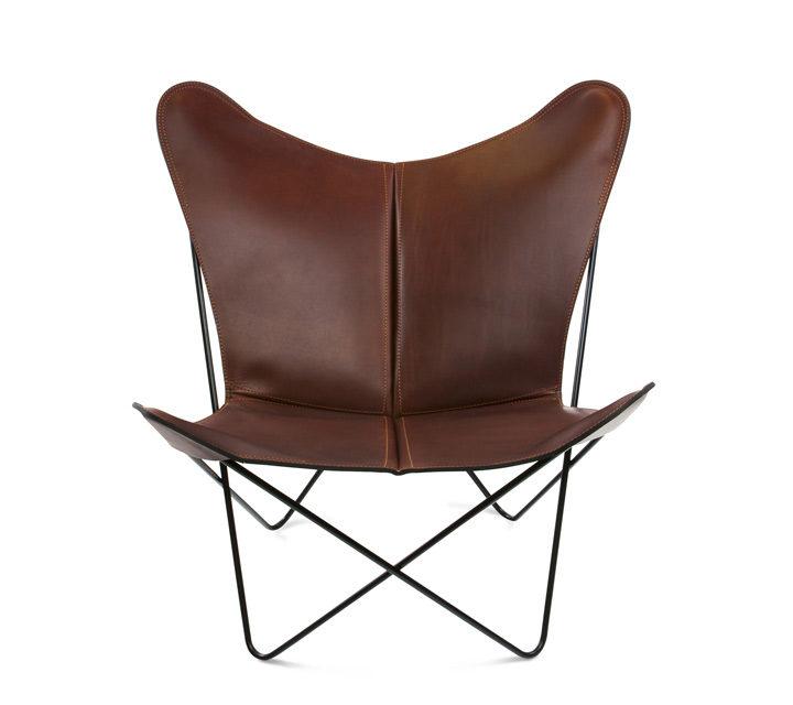 Trifolium Chair Leder cognac
