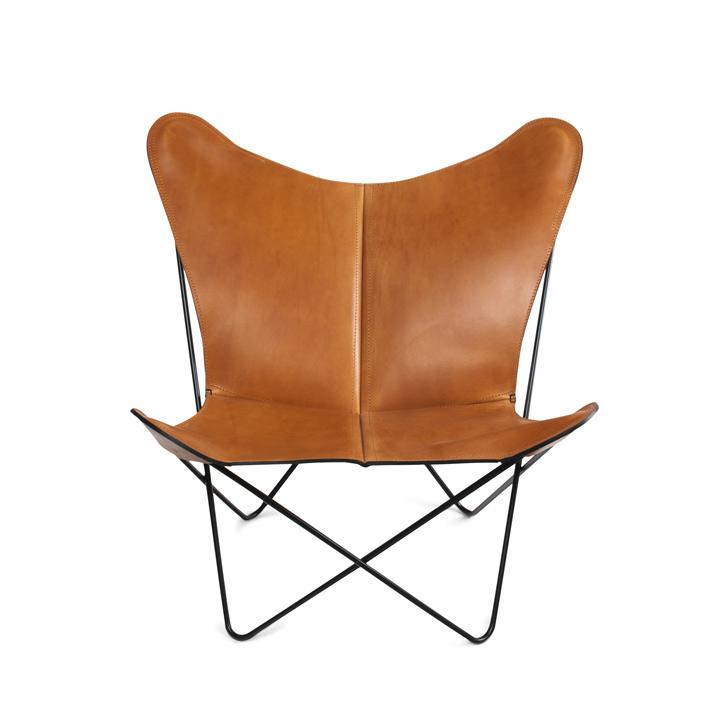 Trifolium Chair Leder haselnuss