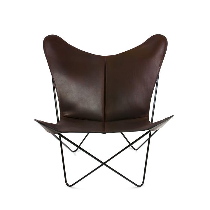Trifolium Chair Leder mocca