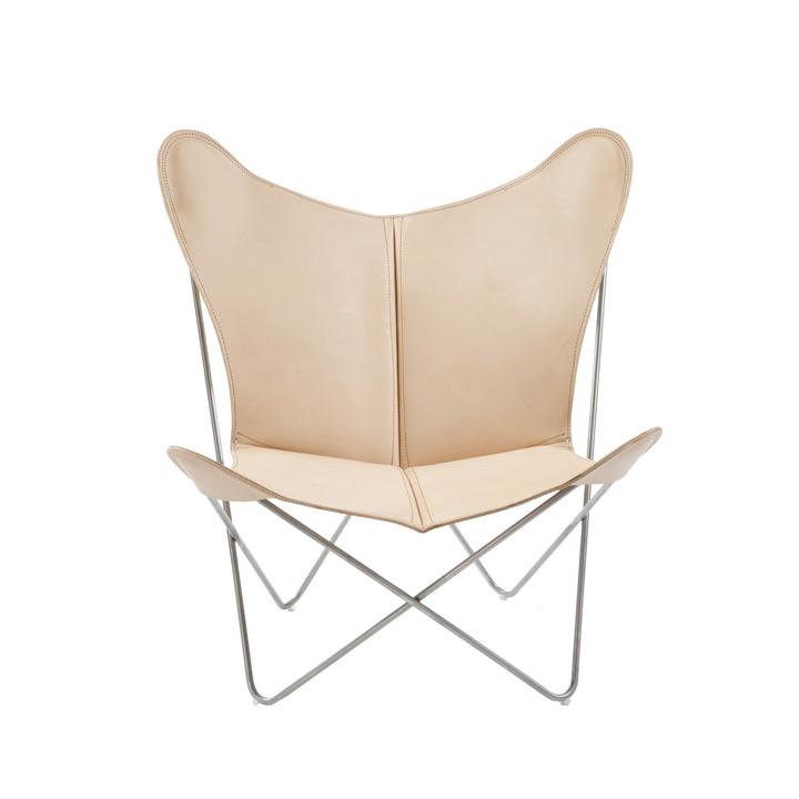 Trifolium Chair Leder natur