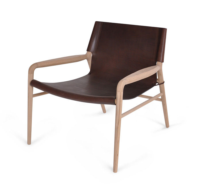 Rama Chair Leder mocca