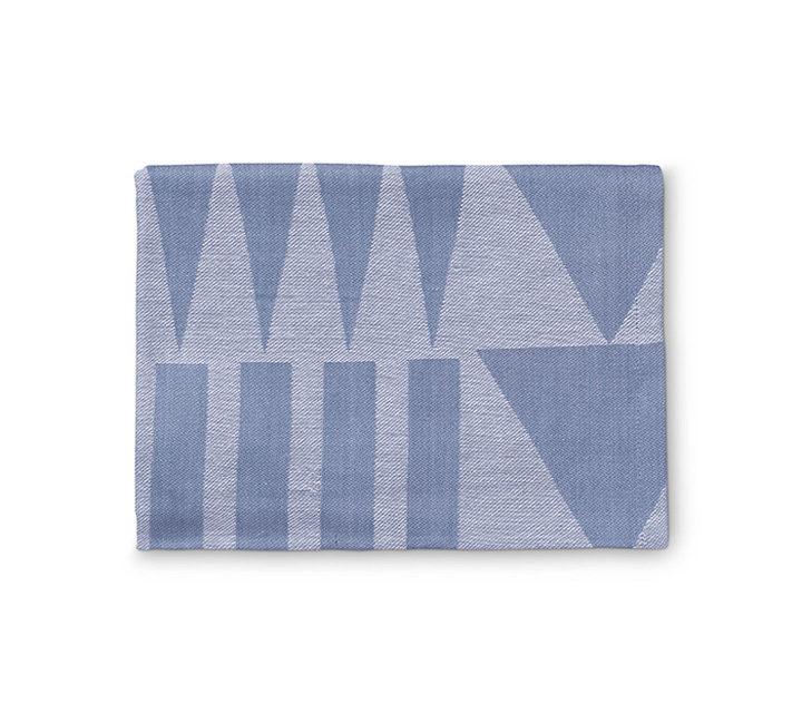 Küchenhandtuch blau/weiß