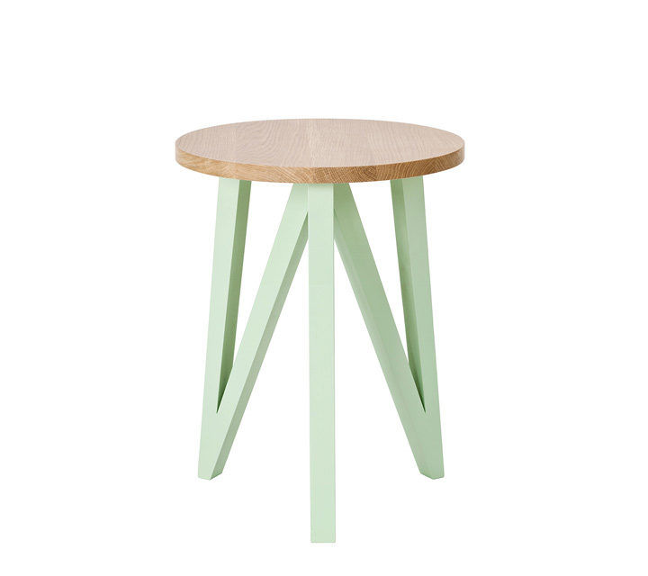 JL2 Sidetable oak/mint