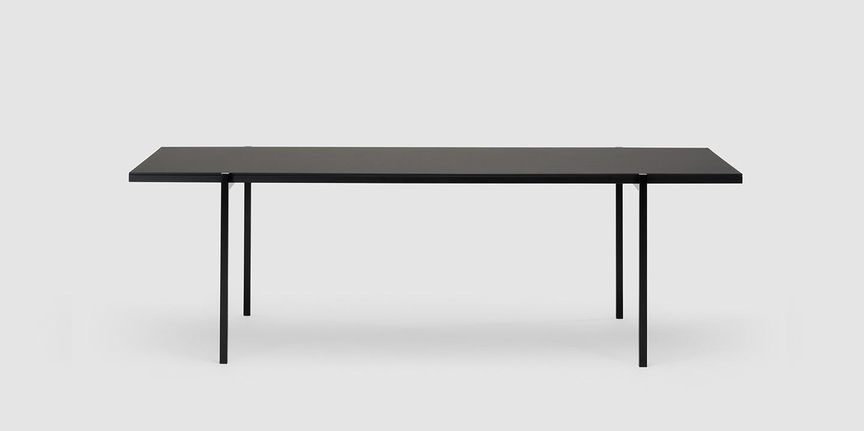 DL5 Neo Tisch, Linoleum schwarz