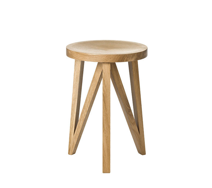 JL1 Stool, natural oak