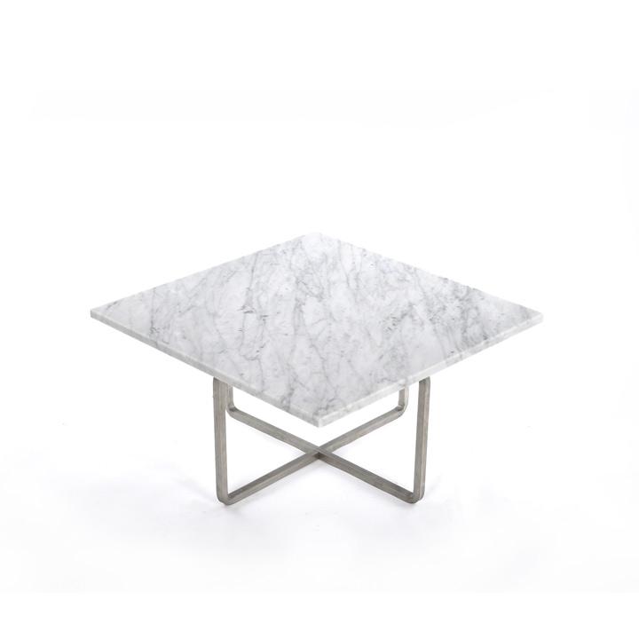 Ninety Table small Carrara white
