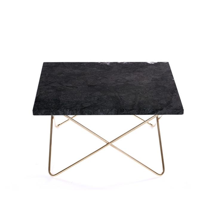Xsmall Table black Marquina