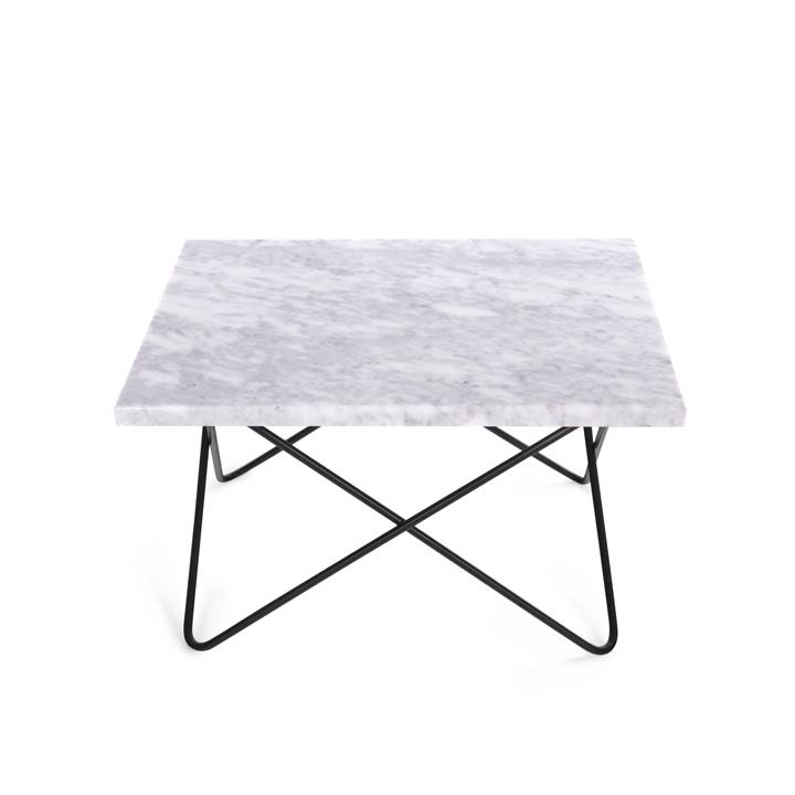 Xsmall Table white Carrara