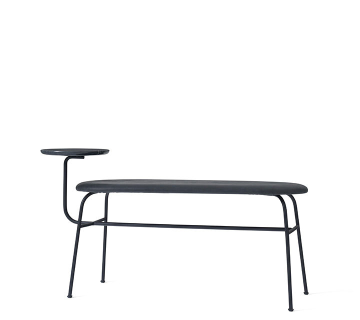 Afteroom Bench black / black