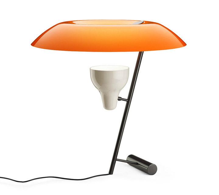 Model 548 orange / Messing brüniert