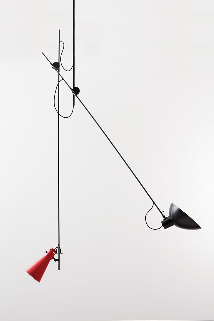 Cinquanta schwarz / rot