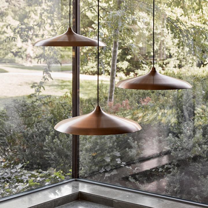 Circular Lamp bronze