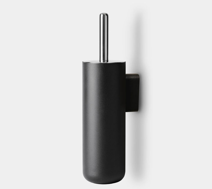 Toilet Brush Wall, black