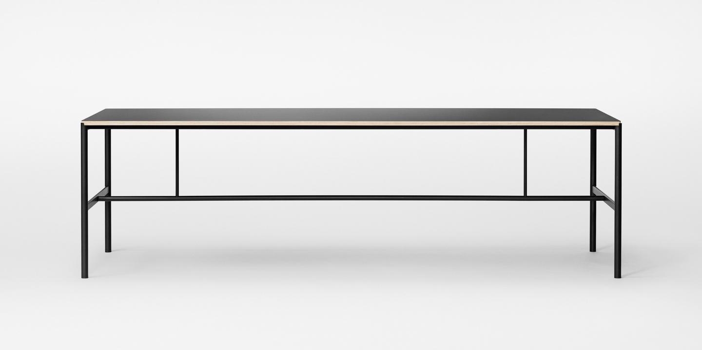 Mies Table black 250 cm