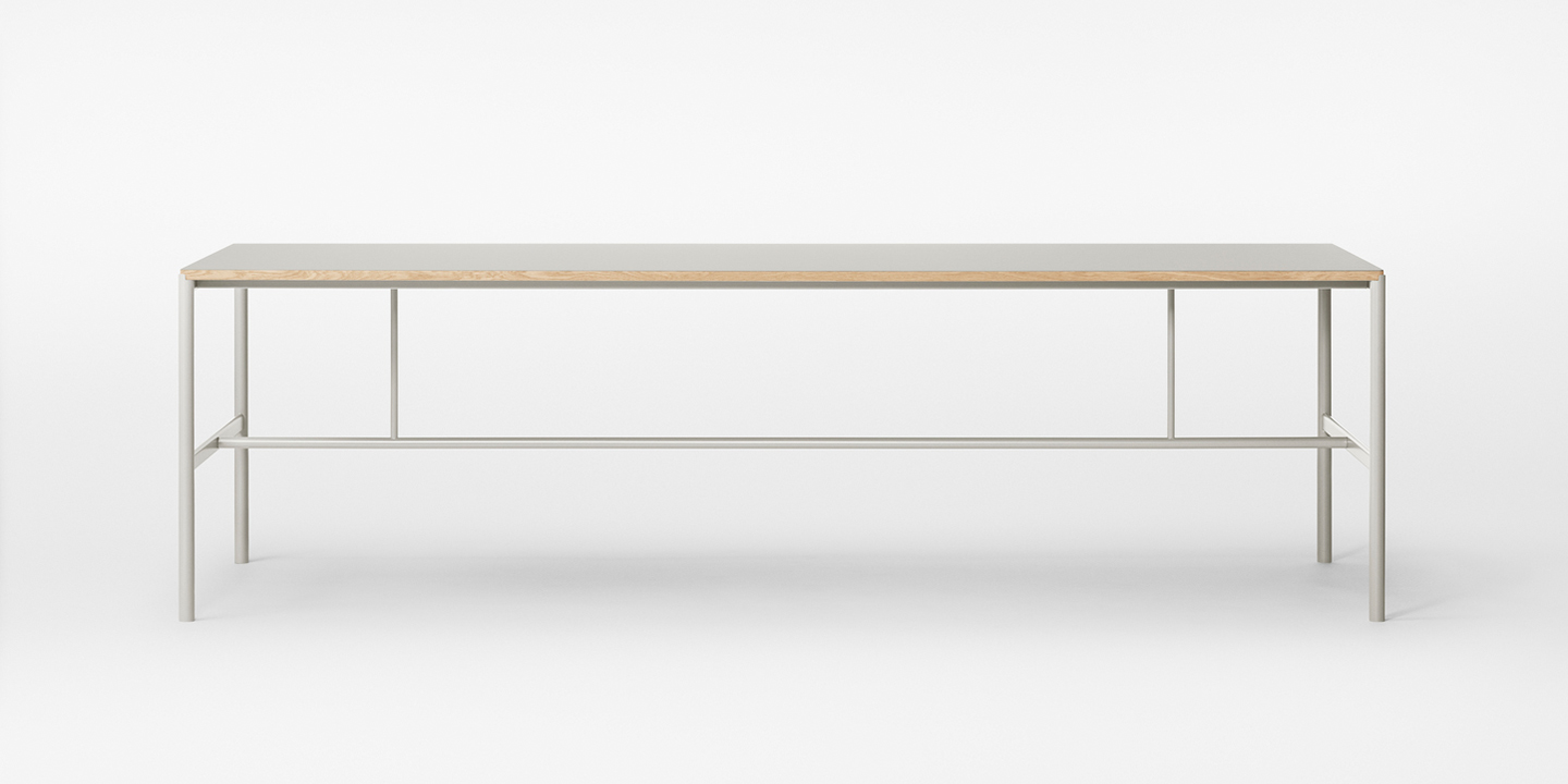 Mies Table grey 250 cm