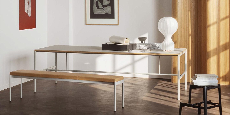 Mies Table grey